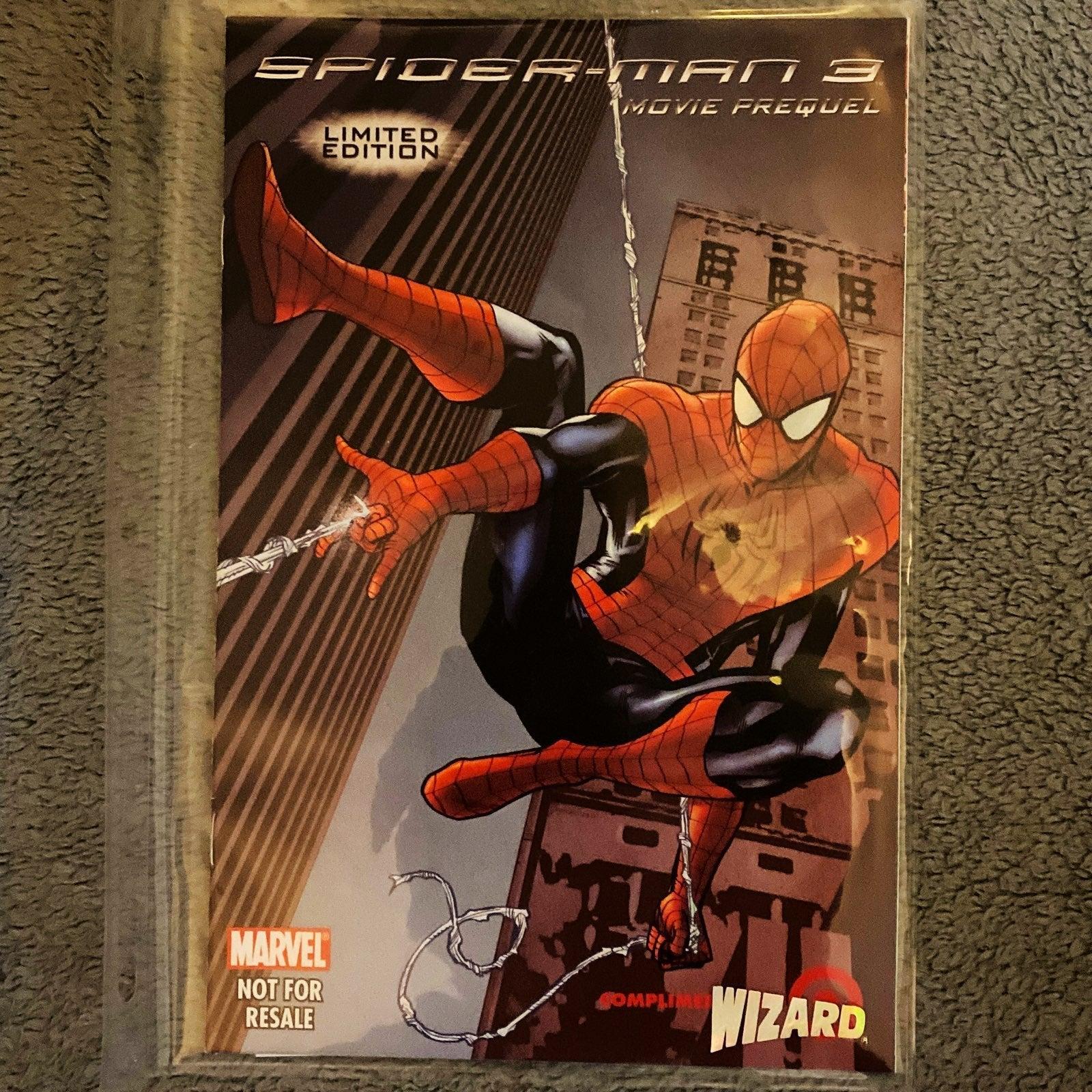 Marvel 2007 Spider-Man 3 Movie Prequel