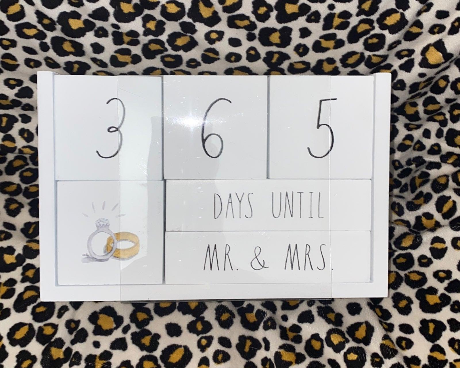 Rae Dunn Countdown Calendar