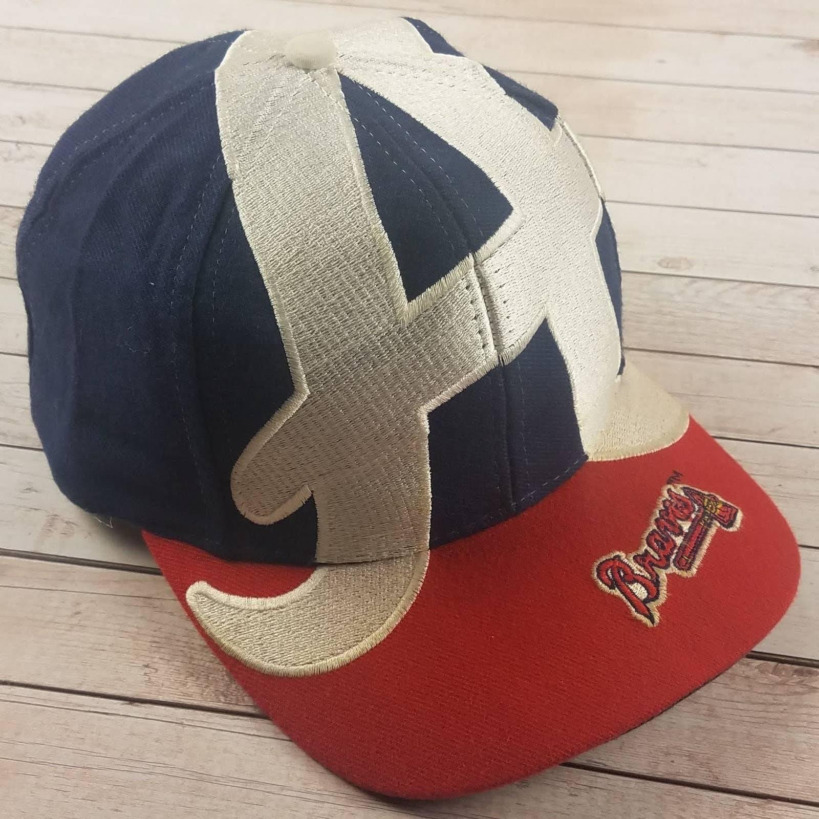 VTG 90s Atlanta Braves Big Logo Hat