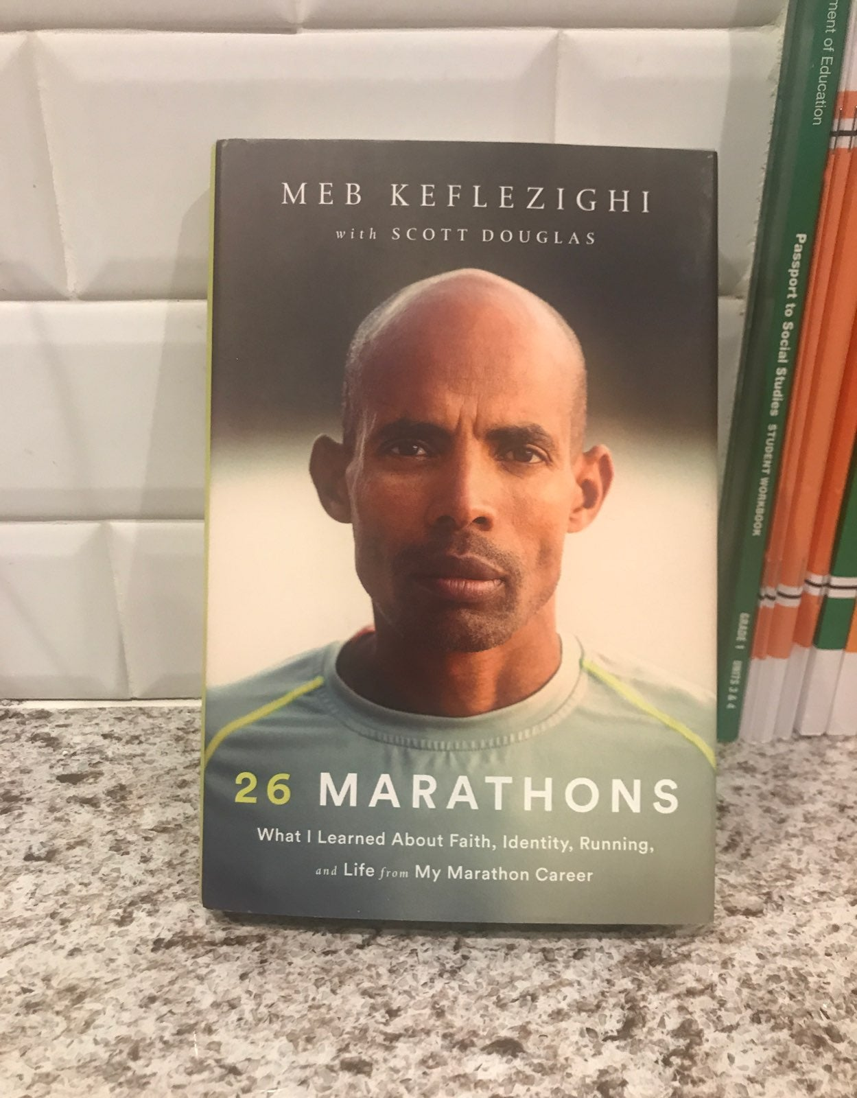 26 Marathons, by Meb Keflezighi SIGNED!