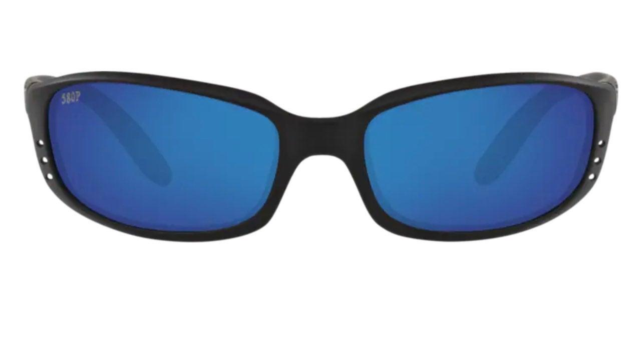 Costa Del Mar Brine Black, Blue Lenses