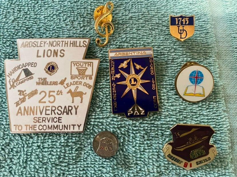 Pins Cufflink Treasure Drawer Finds