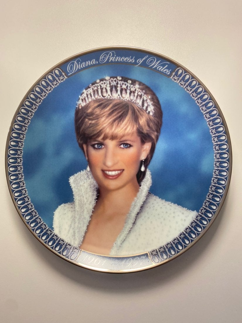Franklin mint tribute to Princess Diana