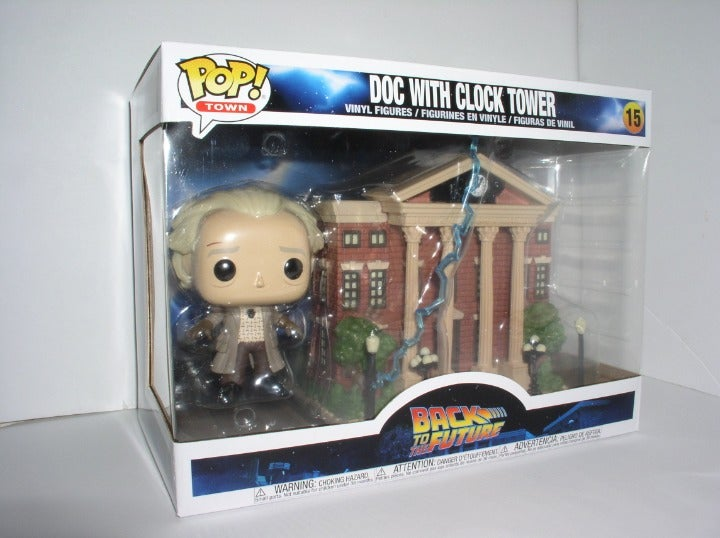 Funko Pop Town - Back to the Future-Doc