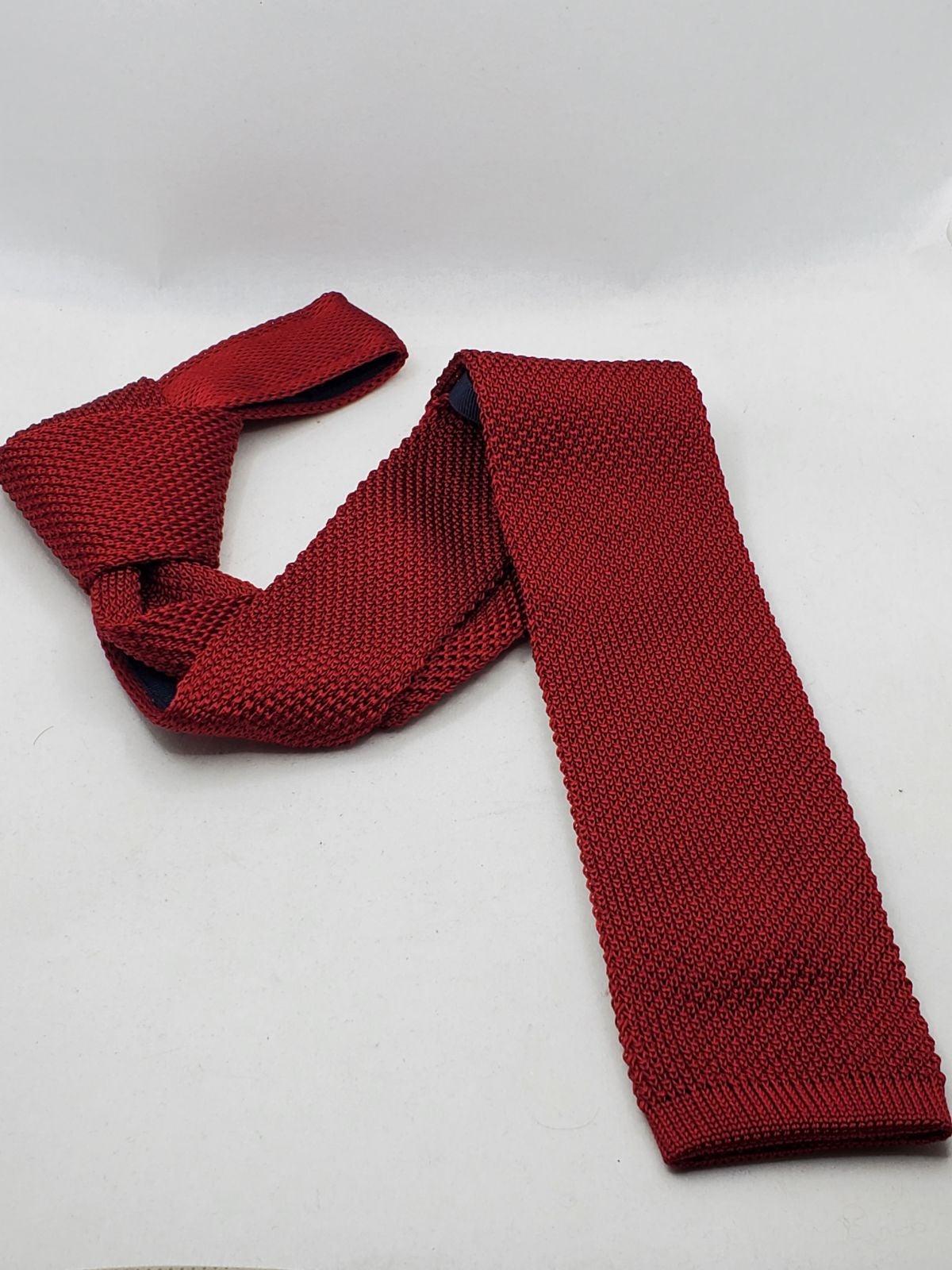 Roundtree & Yorke Men's Silk Knit Tie