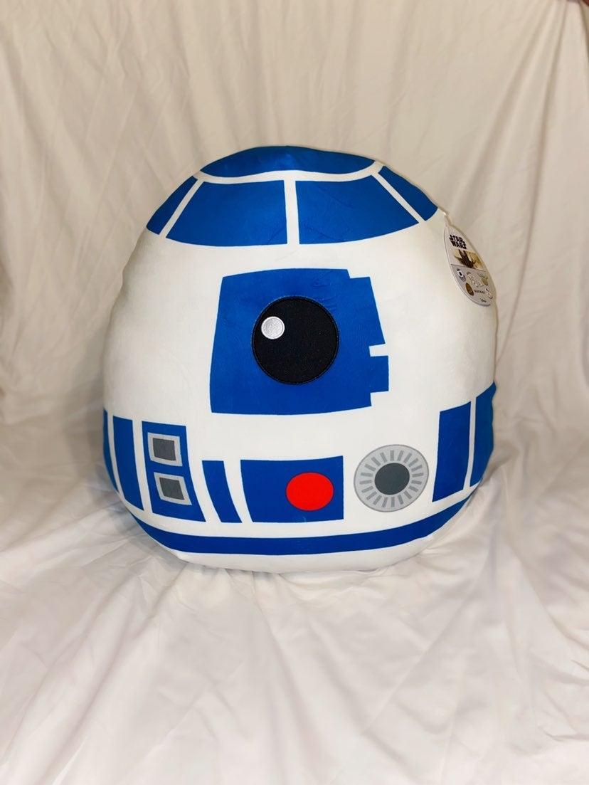 """XL R2D2 Star Wars Squishmallow - 20"""" NWT"""