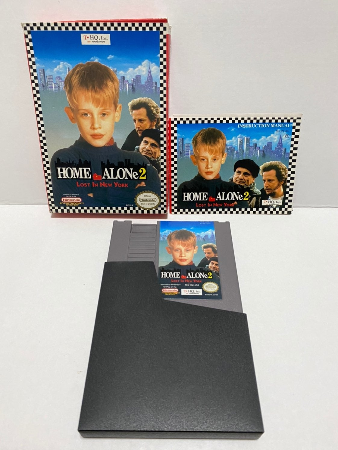 Home Alone 2: Lost in New York NES