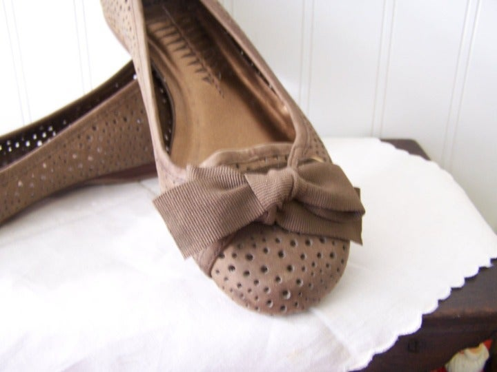 NEW Leather Ballerina Flats BRONX 5-1/2