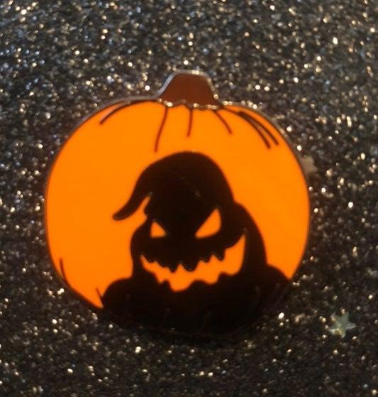 Oogie Boogie Pumpkin Enamel Pin