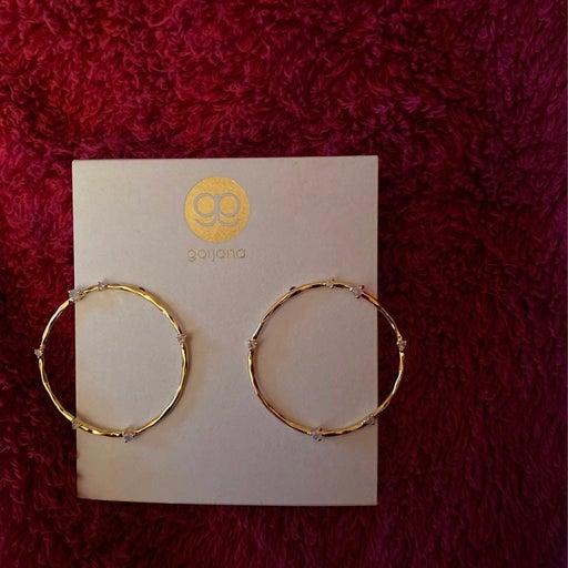Gorjana gold hoops
