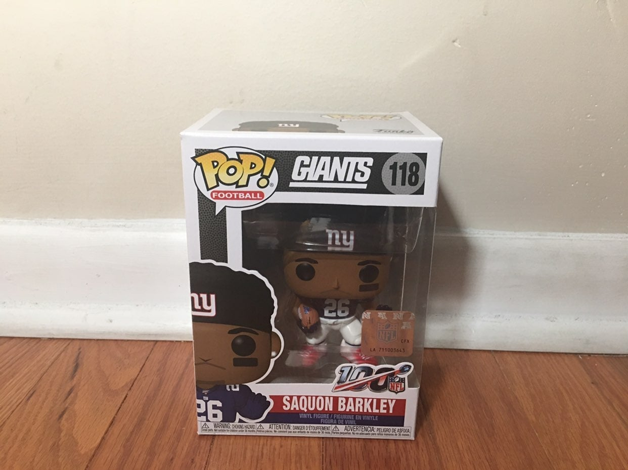 NFL New York Giants Saquon Barkley