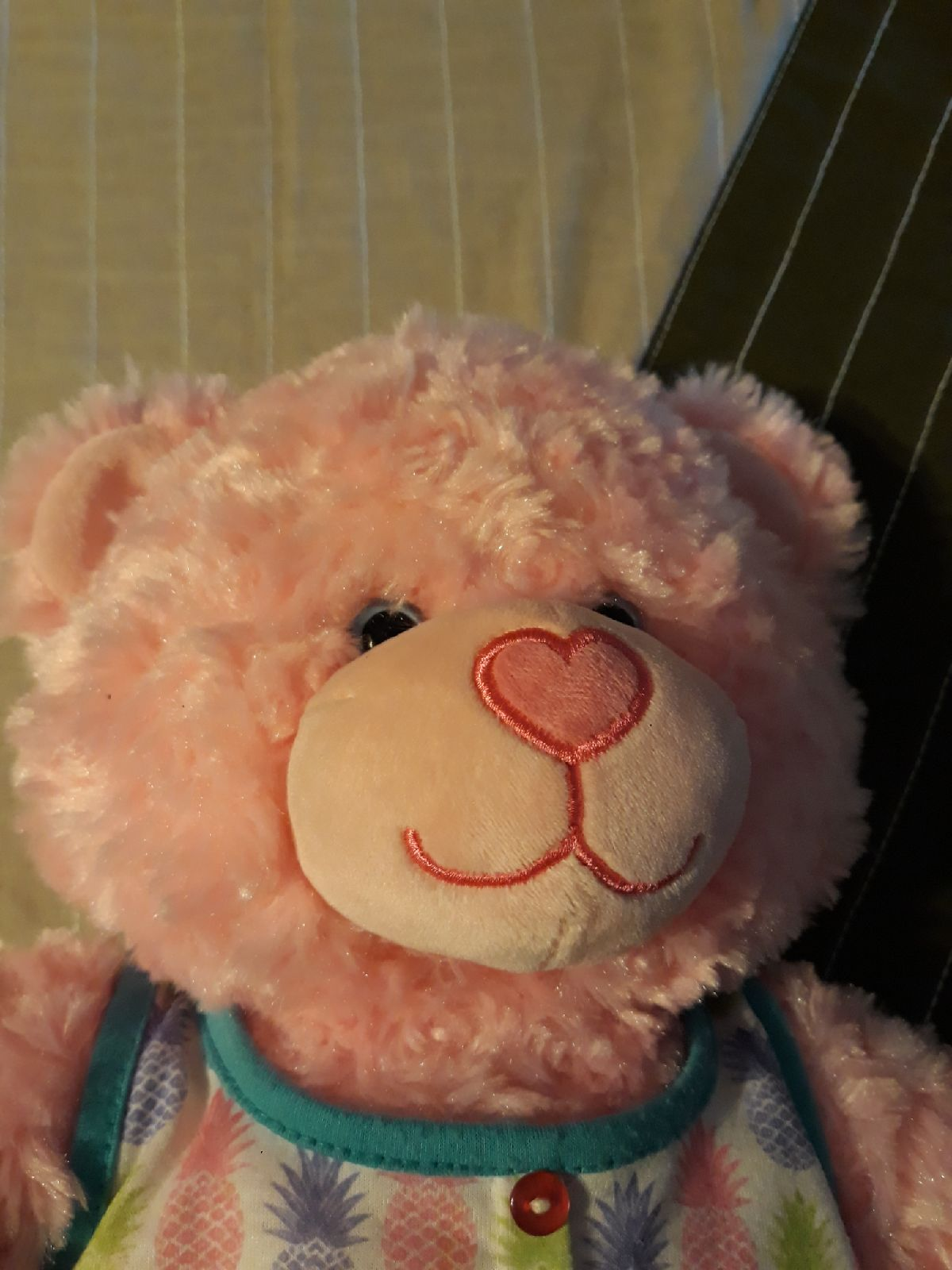 B A B pink bear