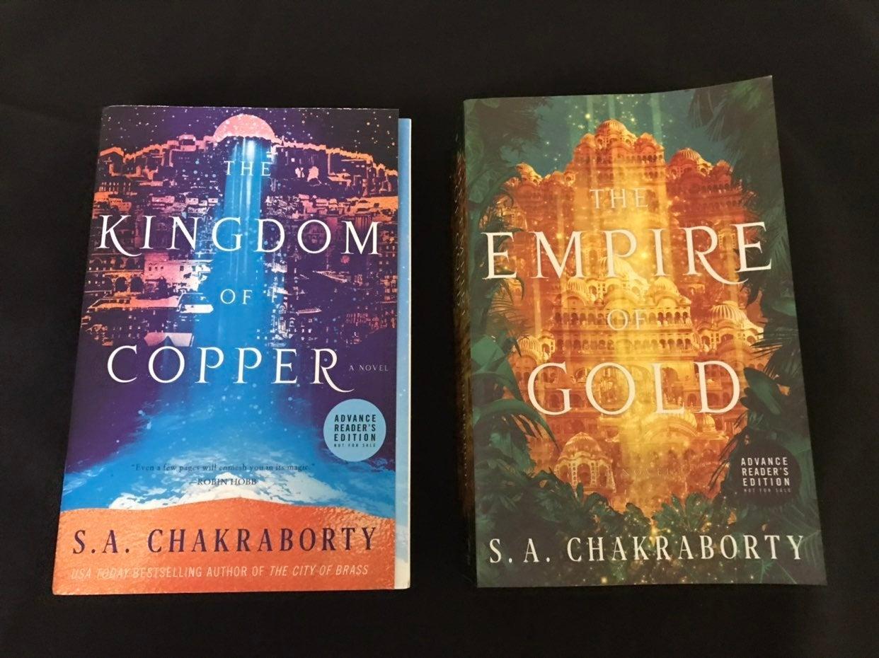 The Kingdom of Copper & Empire Gold ARCS