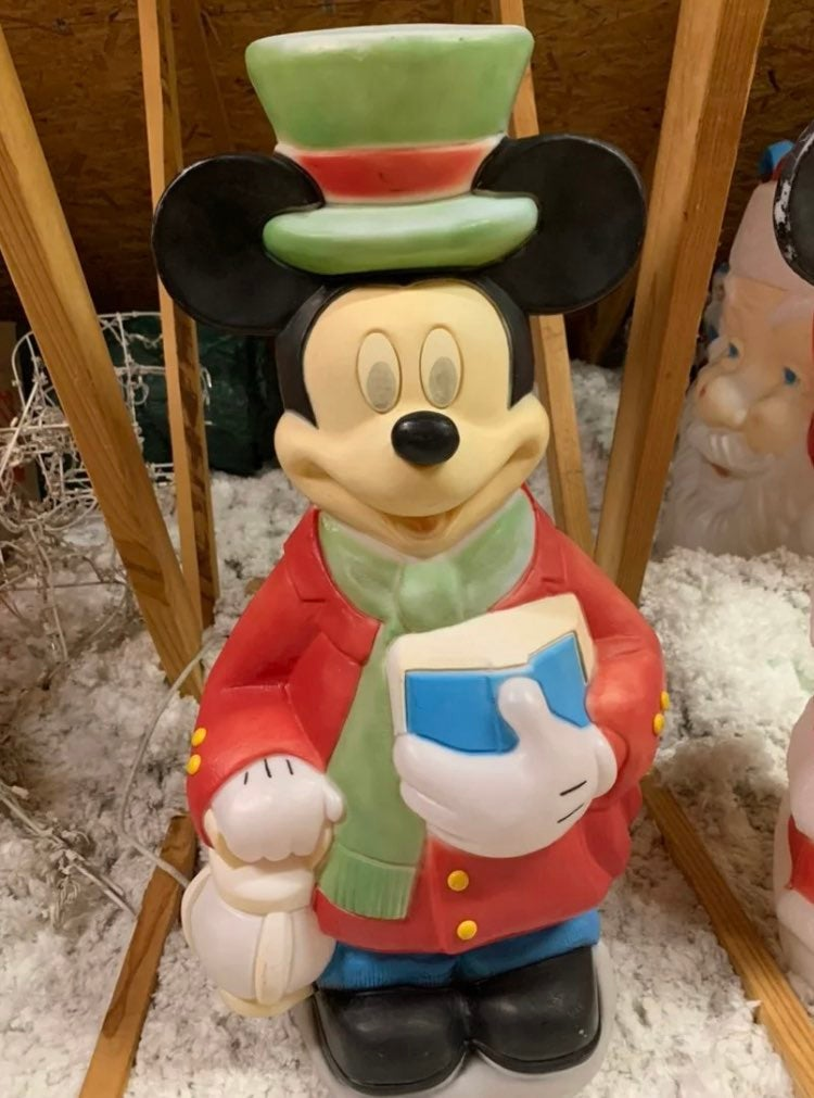 Mickey Mouse Blow Mold