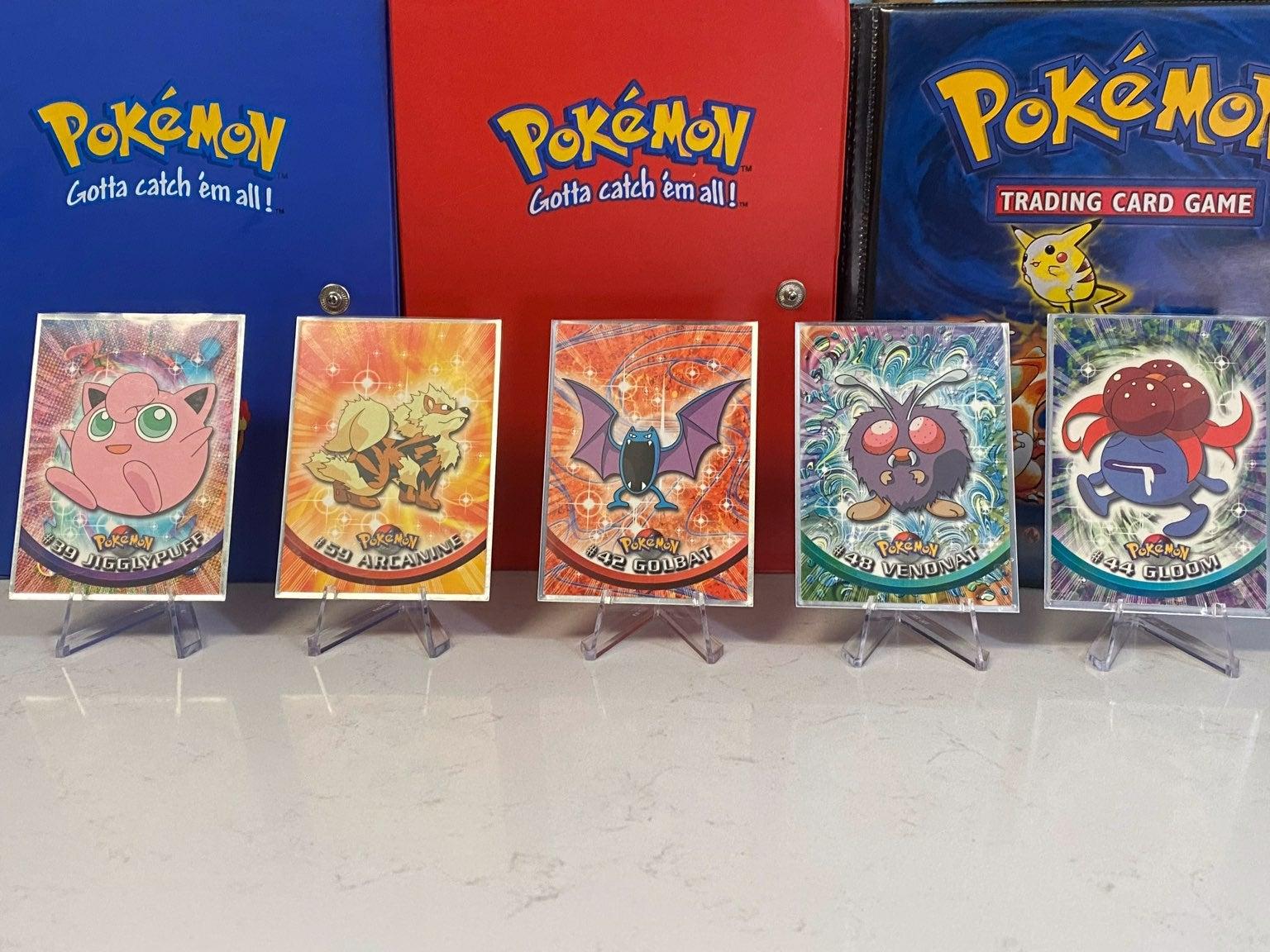 Pokemon topps cards lot
