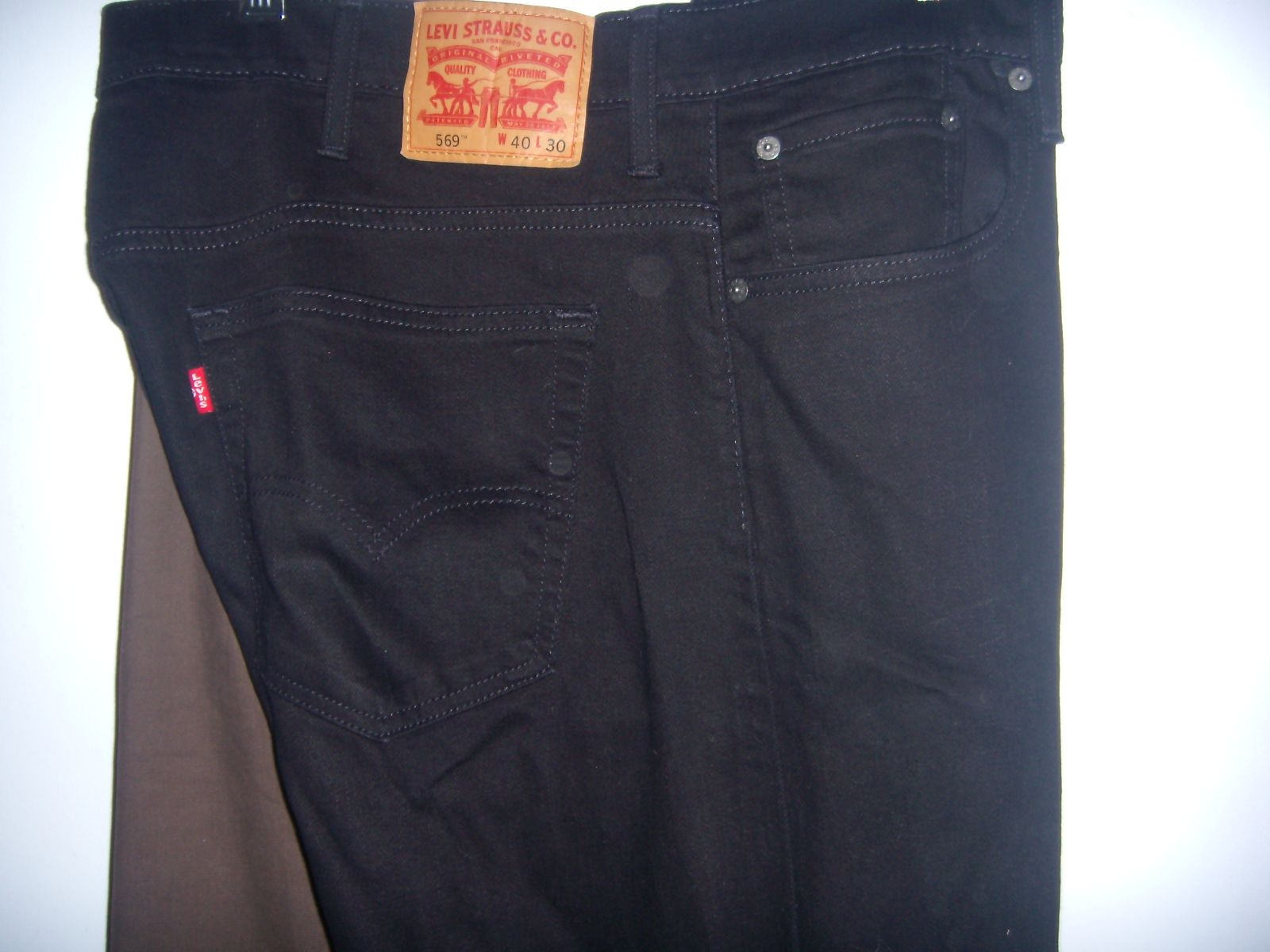 Mens Levi Strauss & Co. Jeans