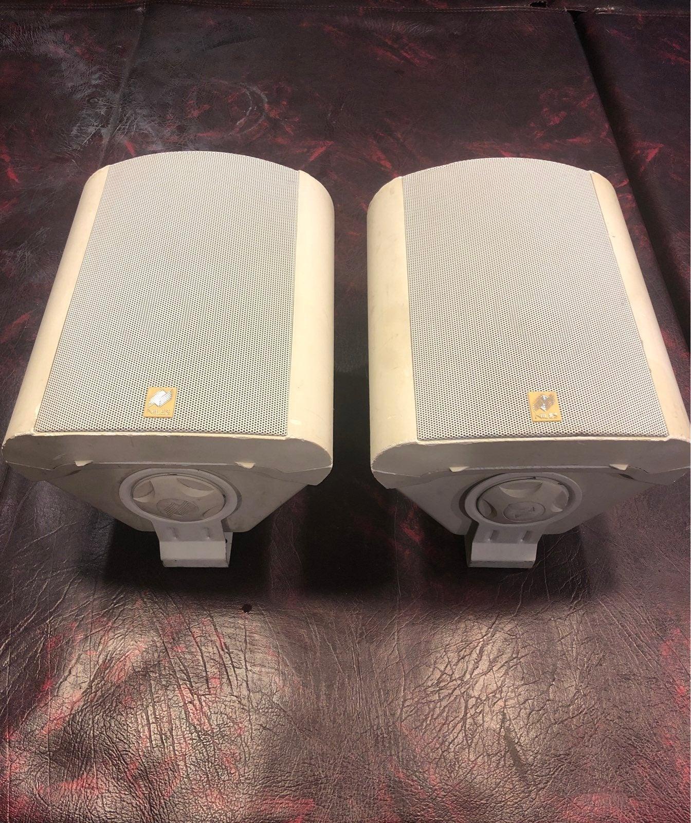 Niles OS-10 Indoor outdoor speakers Whit