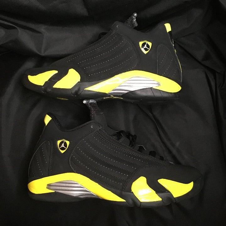 Jordan 14 Retro Thunder Mens Sz 12