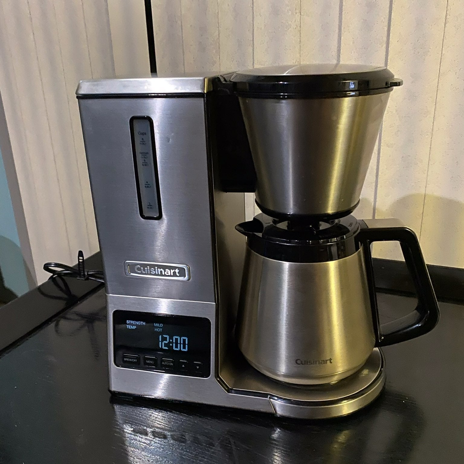 Cuisinart all stainless coffee maker