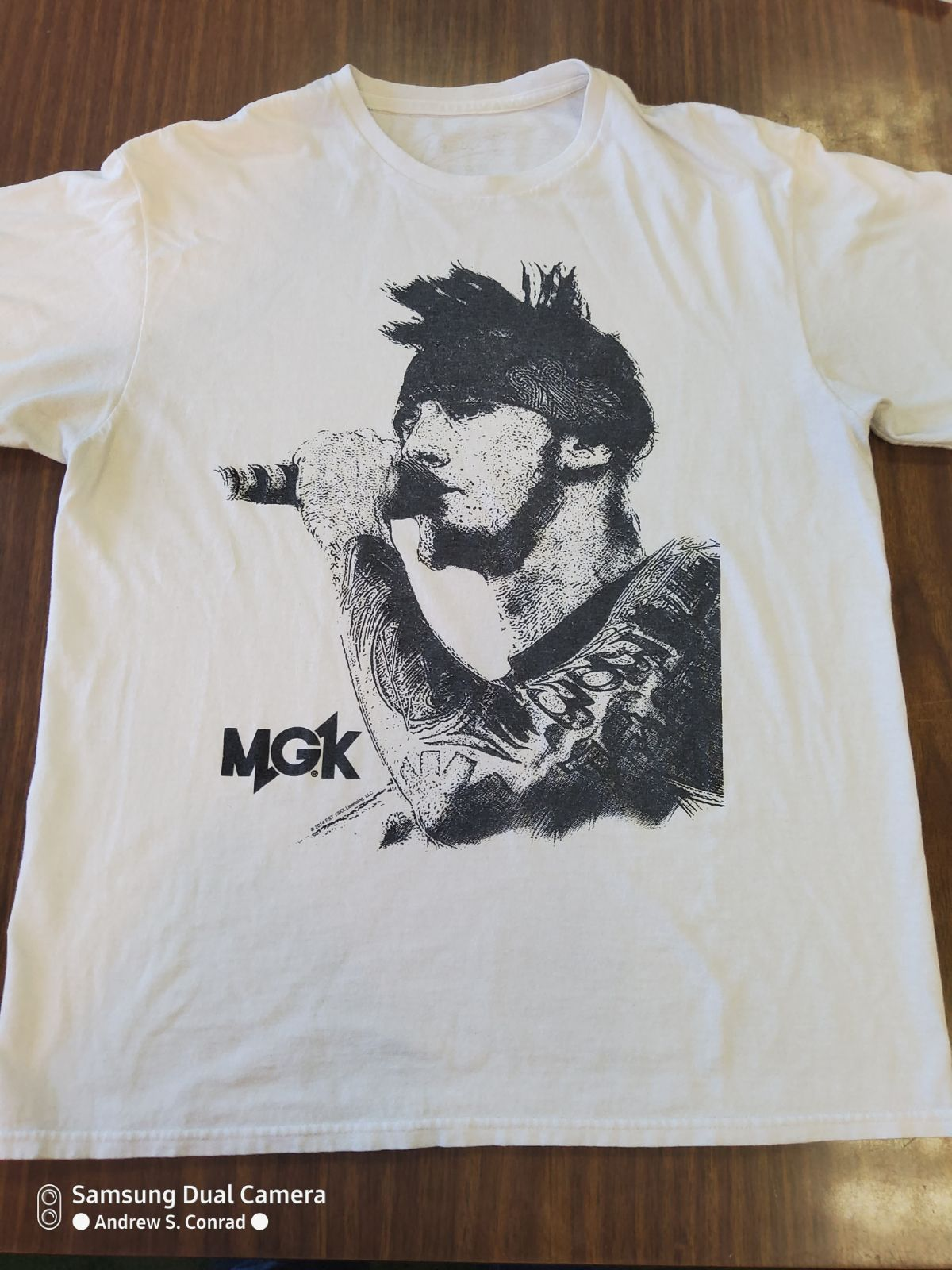 Machine Gun Kelly Adult Medium Shirt