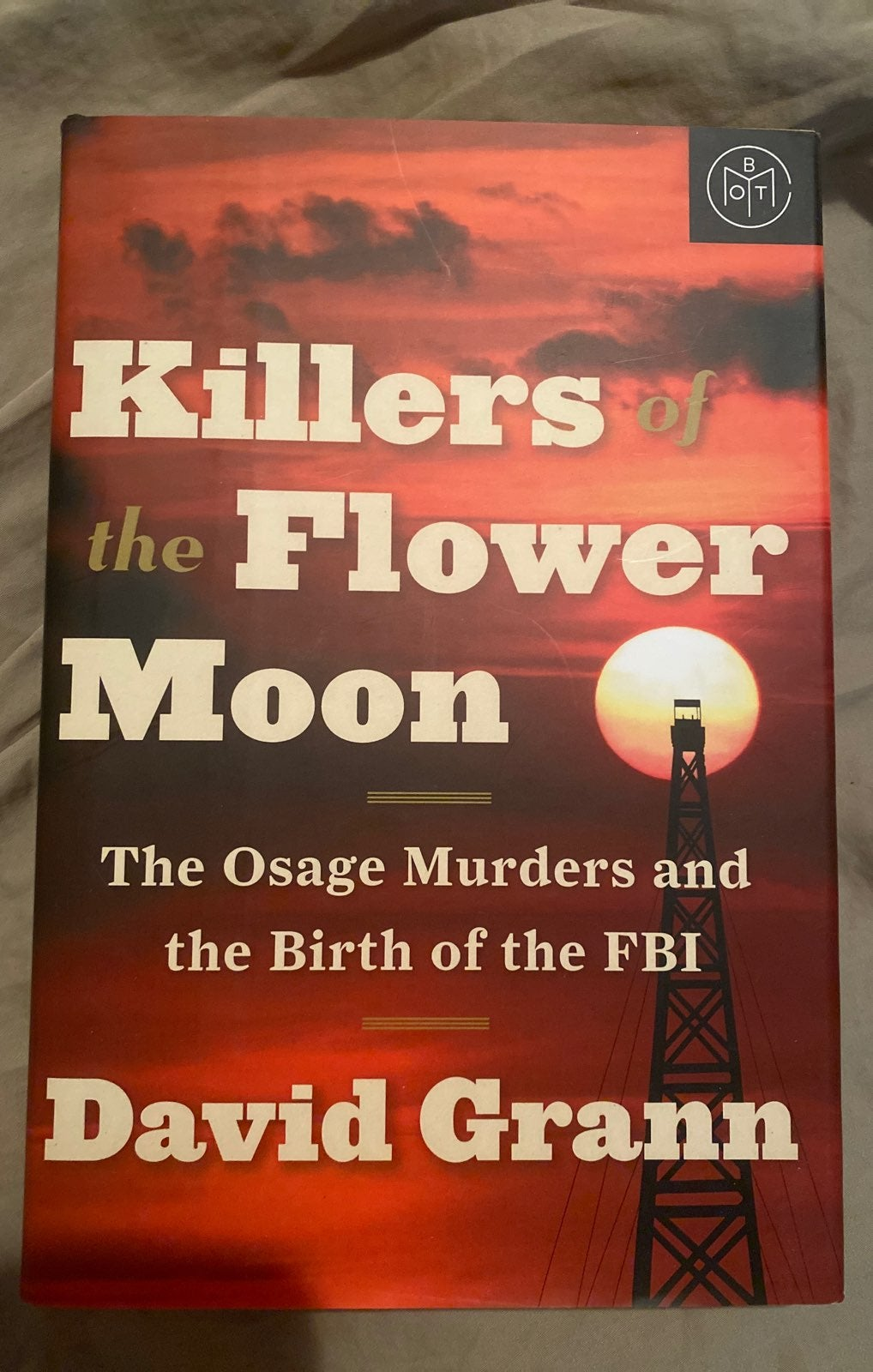 Botm Killers of the Flower Moon book