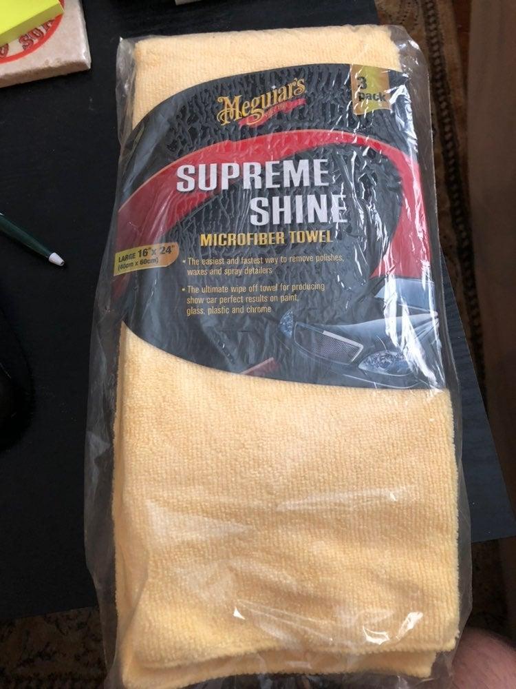 Meguiar's microfiber towel 3 pack