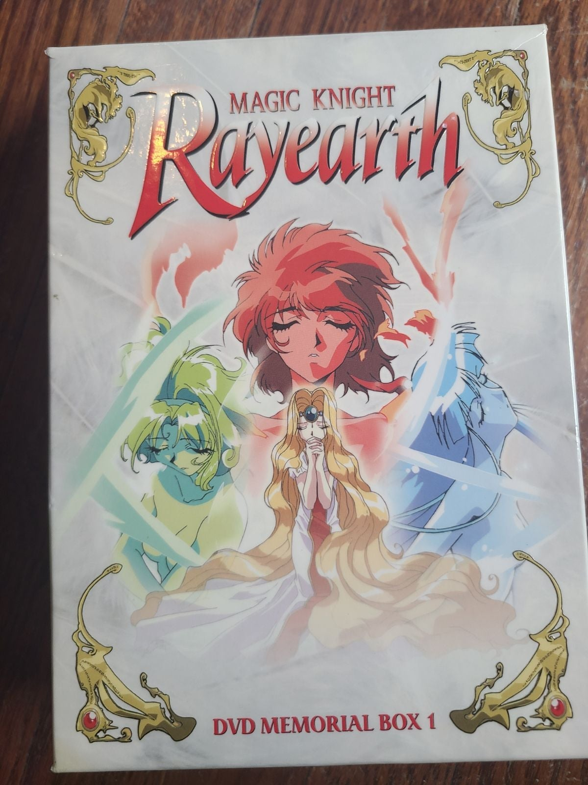 Magic Knight Rayearth DVD Box 1