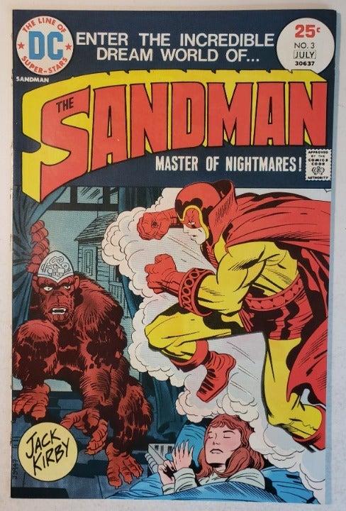 Sandman (1974) #3 - NM-  Jack Kirby art!