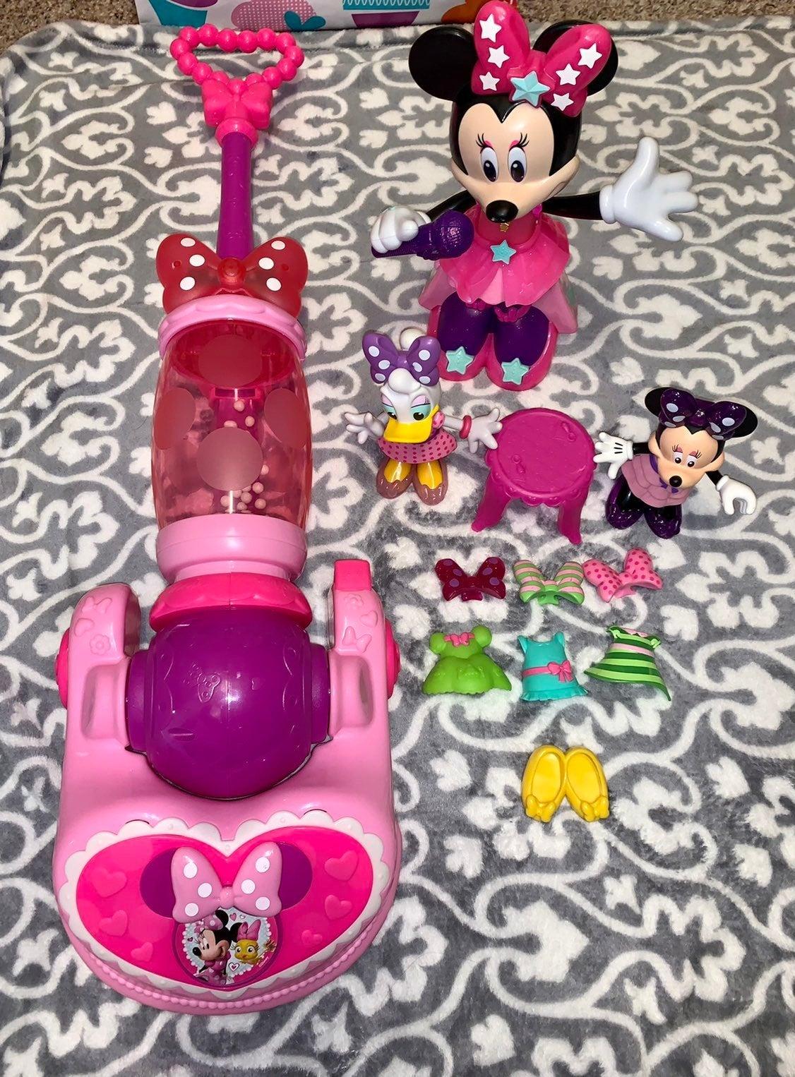 Minnie Mouse Pop Superstar,Vacuum & More