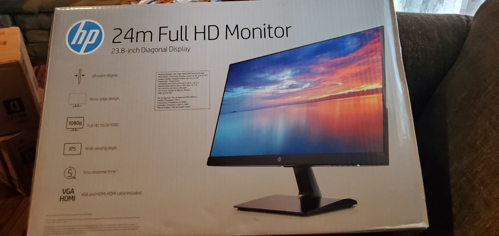 "HP 24"" HD Monitor"