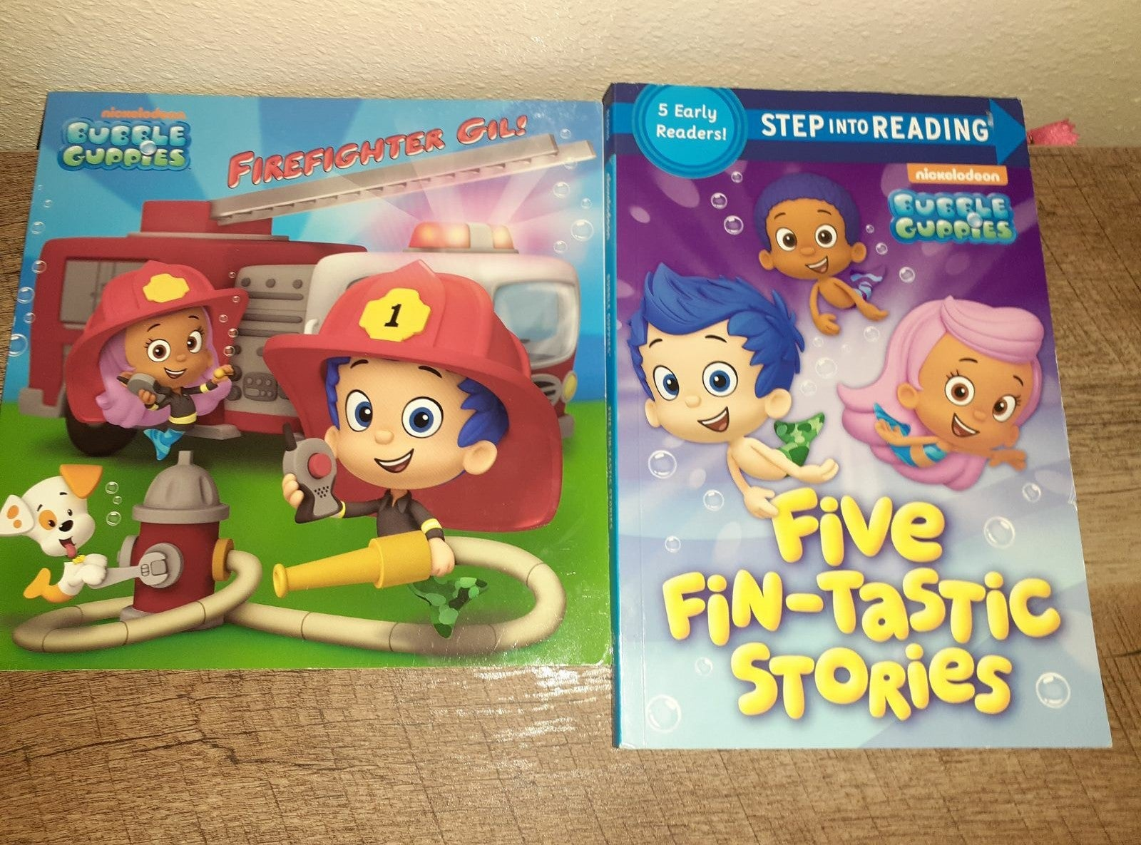 Bubble guppies book lot gil puppy dog
