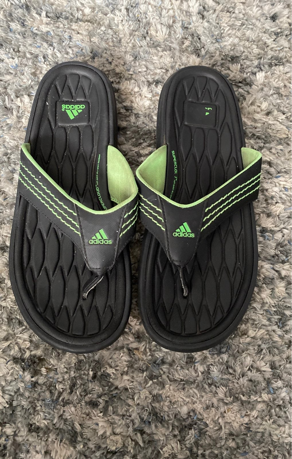 Adidas Flops size 6