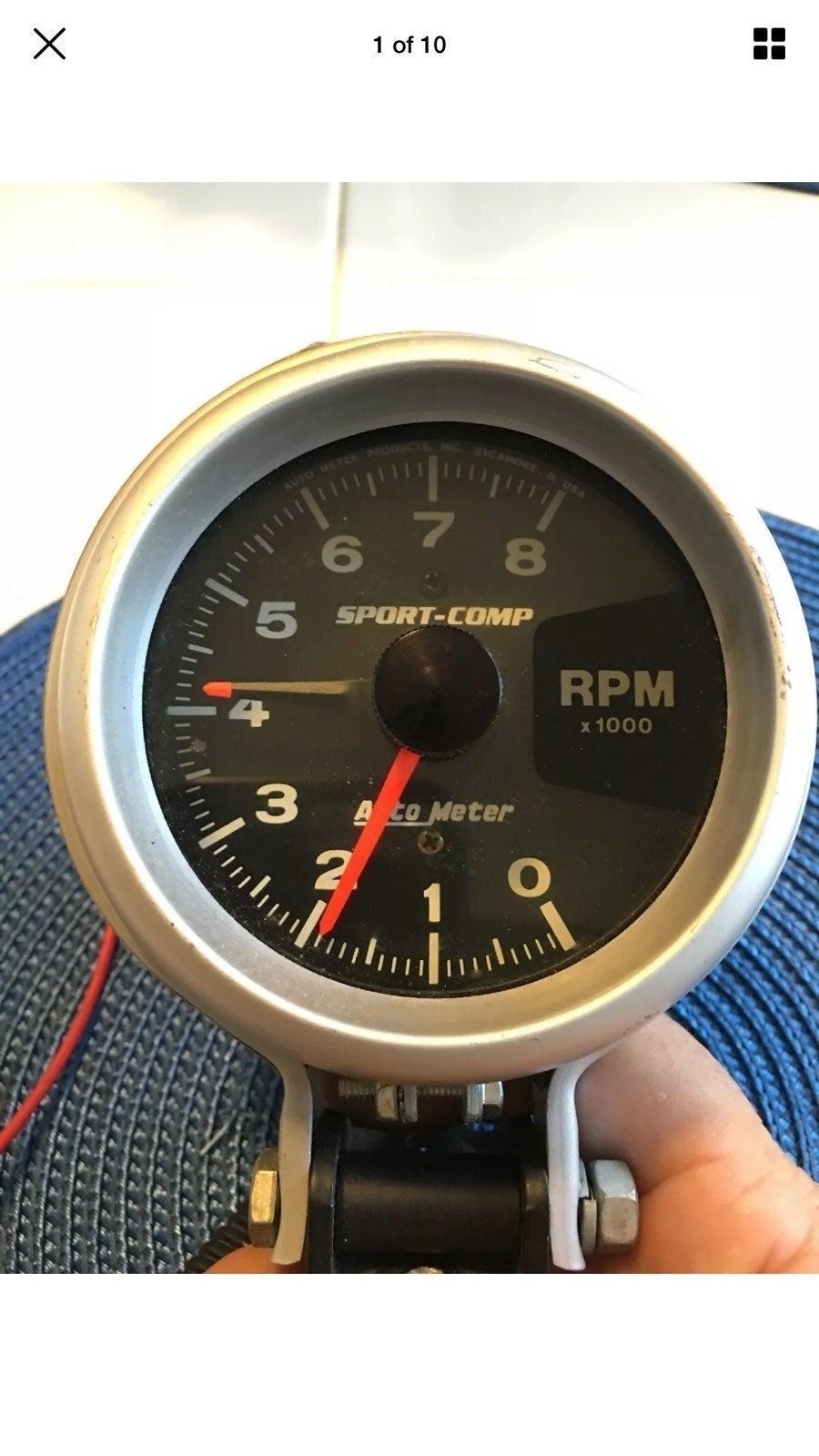 AutoMeter 3780 Sport-Comp Tachometer