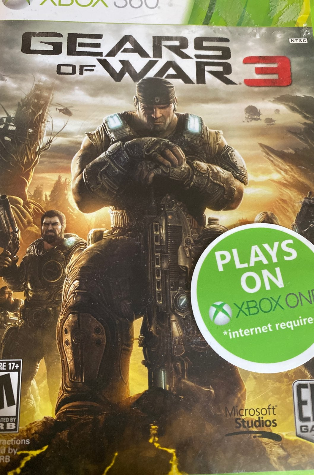 Multyplayer gears of war 360 and xbox 1