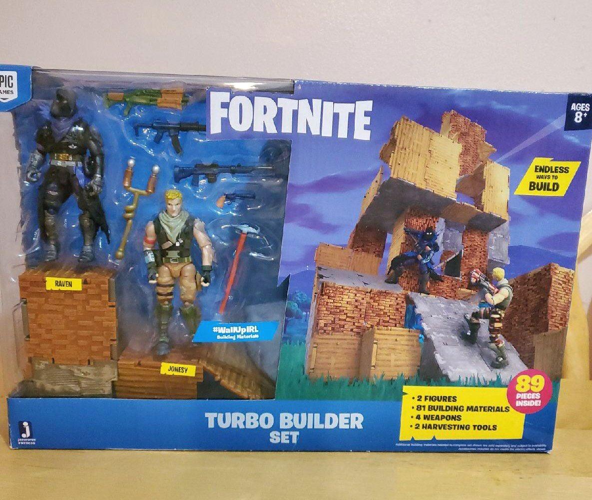 Fortnite Turbo Builder Set Jonesy Raven