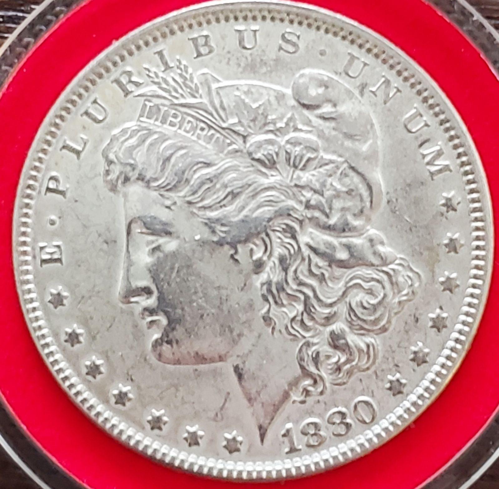 1880 Morgan Dollar Silver