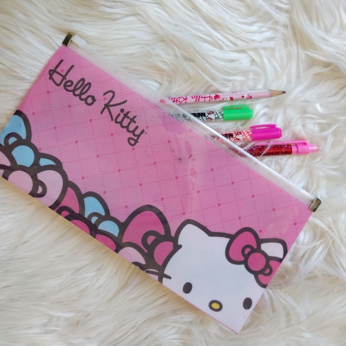 Hello Kitty Pastel Kawaii Art Supplies