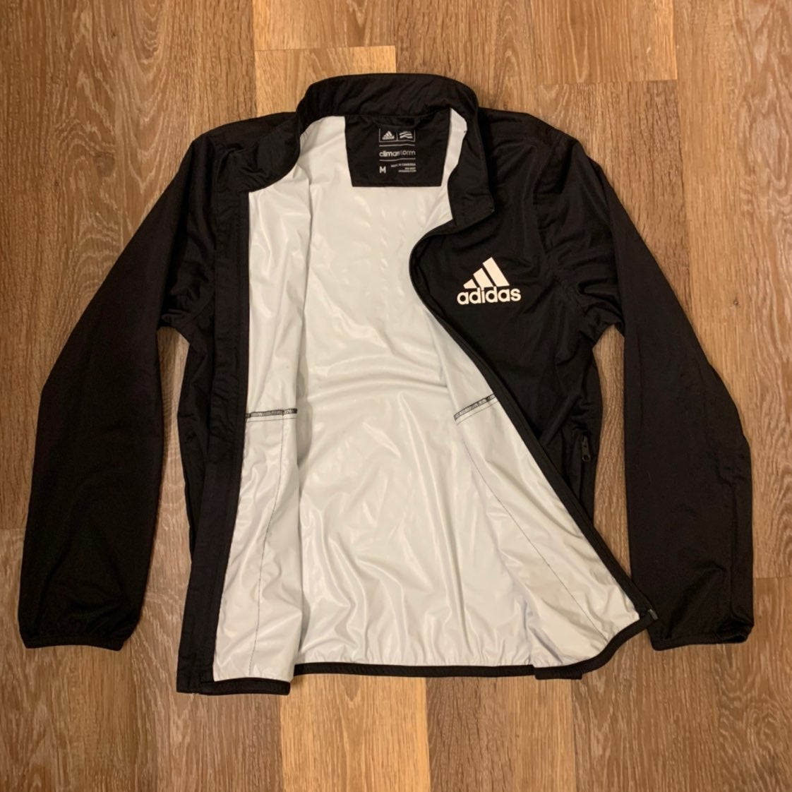 Adidas Climastorm Jacket Black Medium