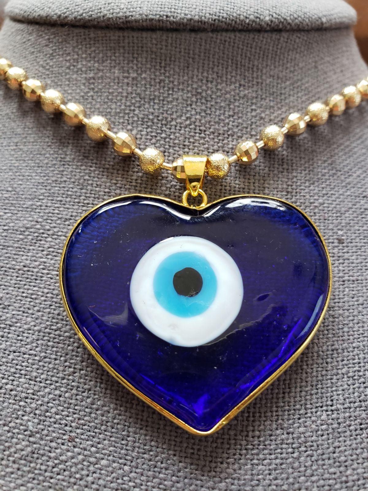Evil Eye Necklace (Blue Eye)