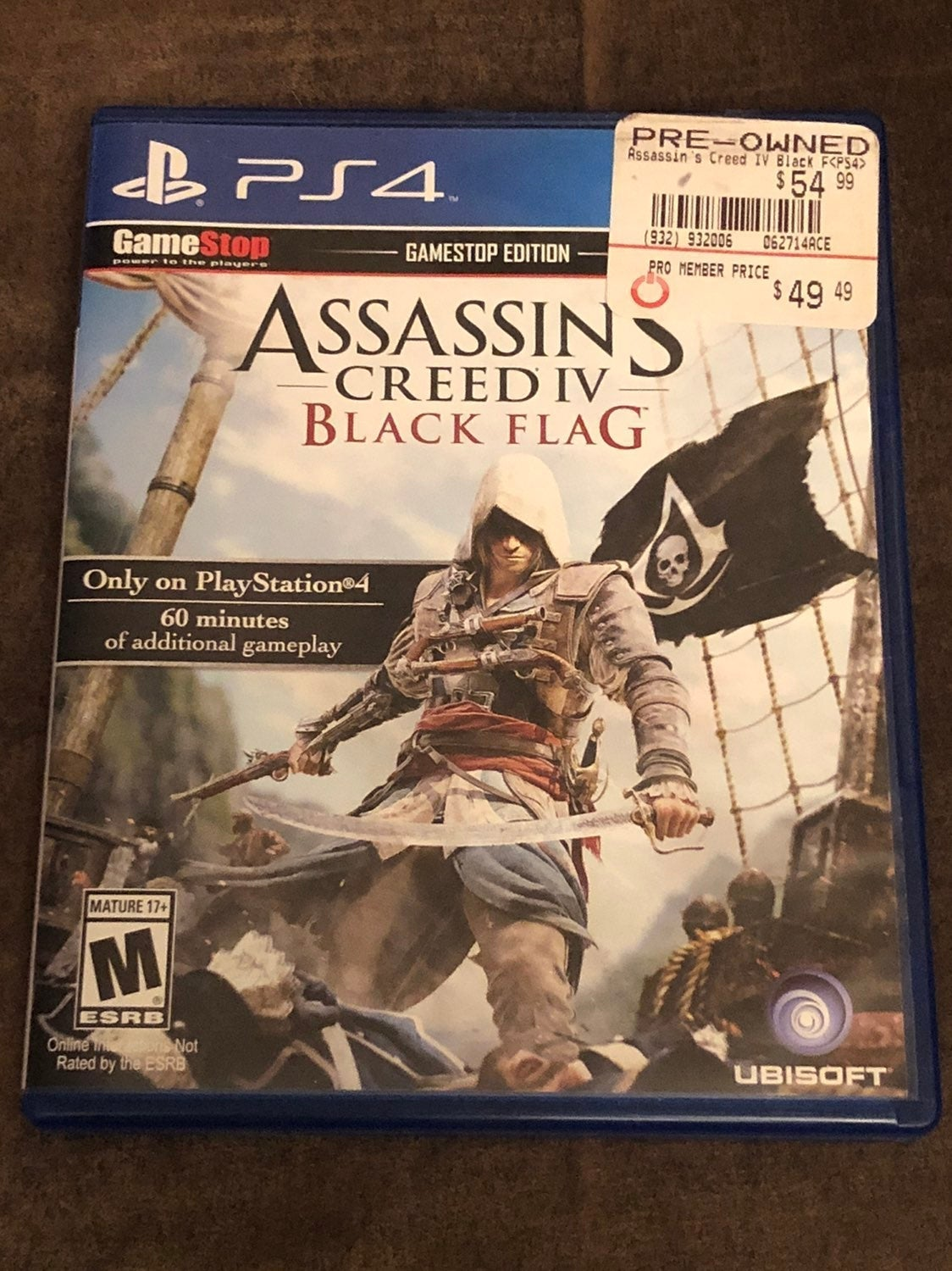 Assassin's Creed IV: Black Flag on PS4