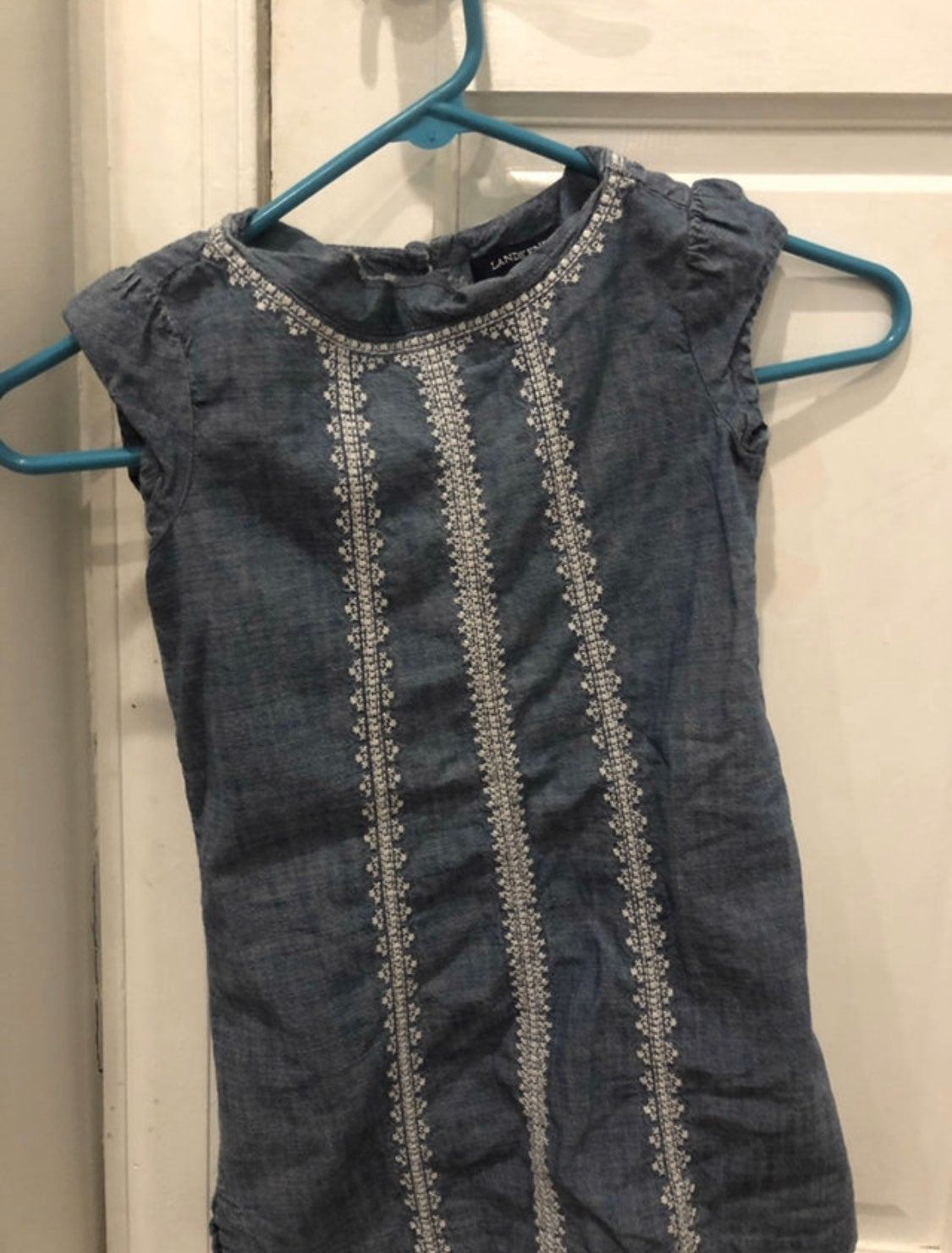 Lands' End Denim Dress size 6