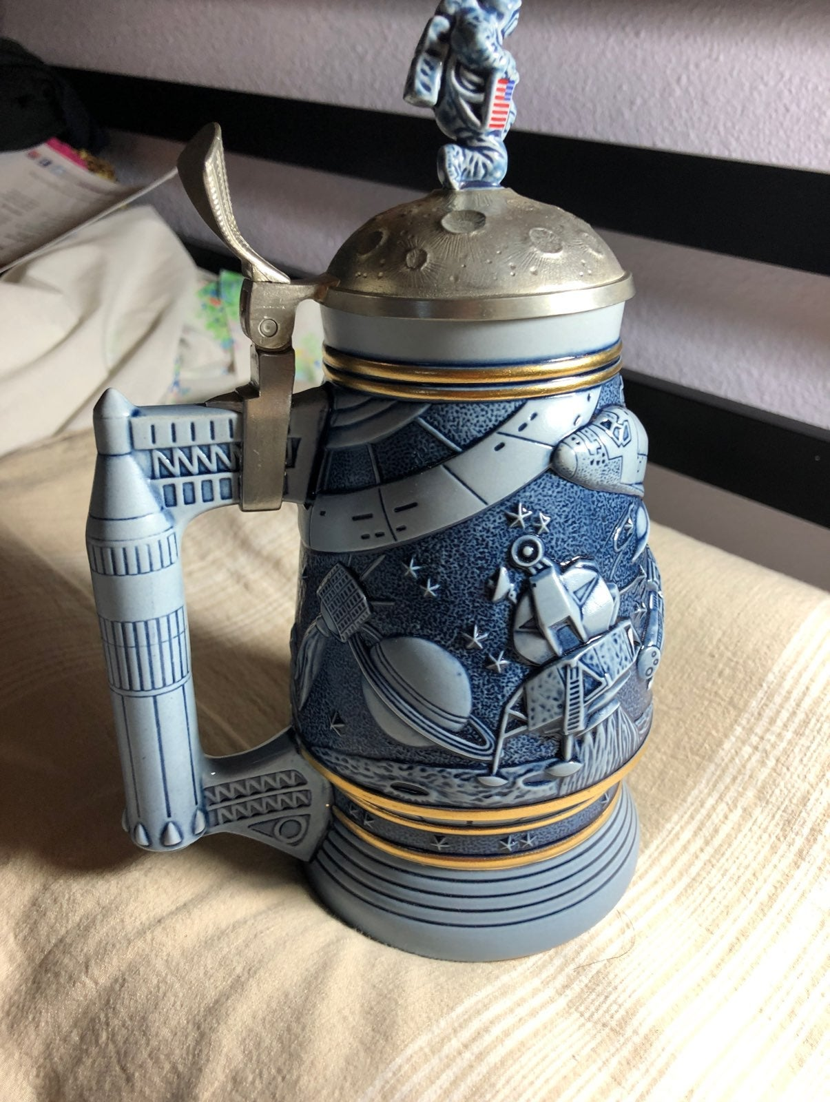 Conquest of Space Stein Avon collectible