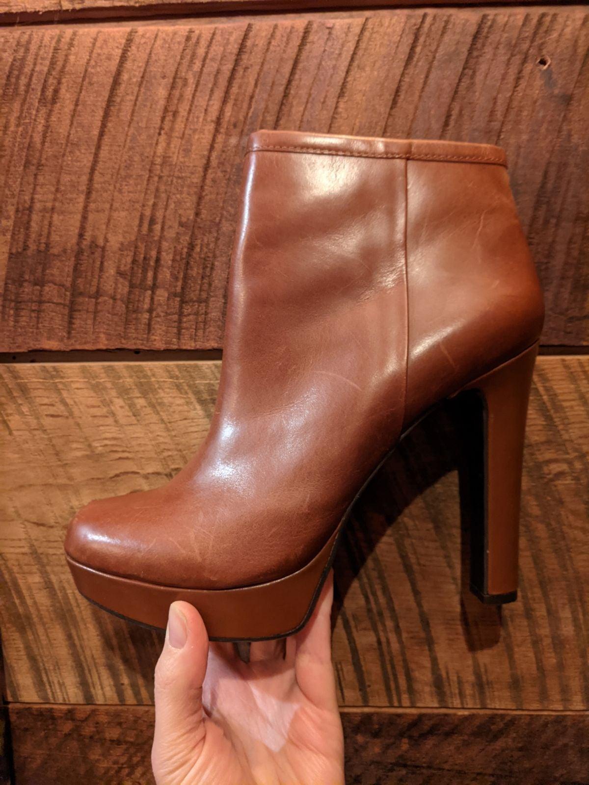 Gianni Bini brown ankle boots