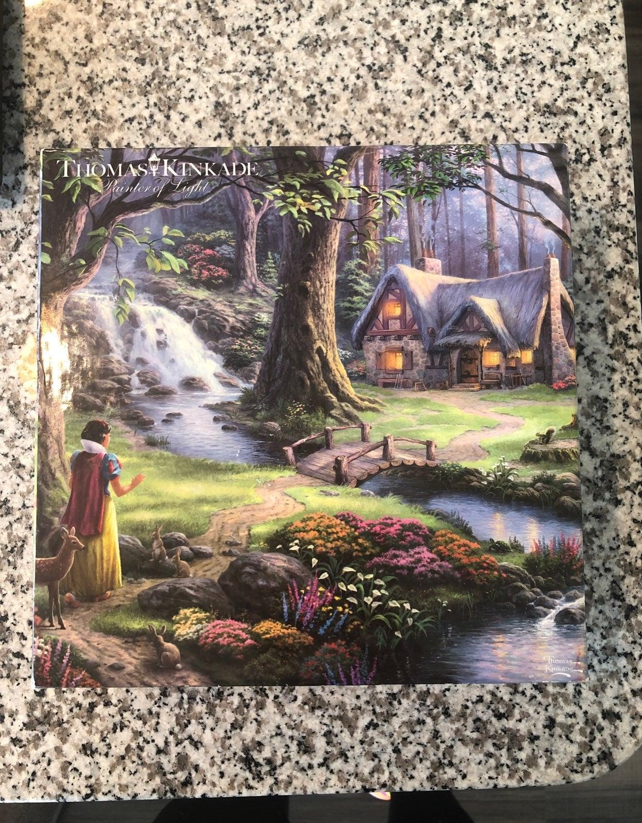 Thomas Kinkade Disney Puzzle Snow White