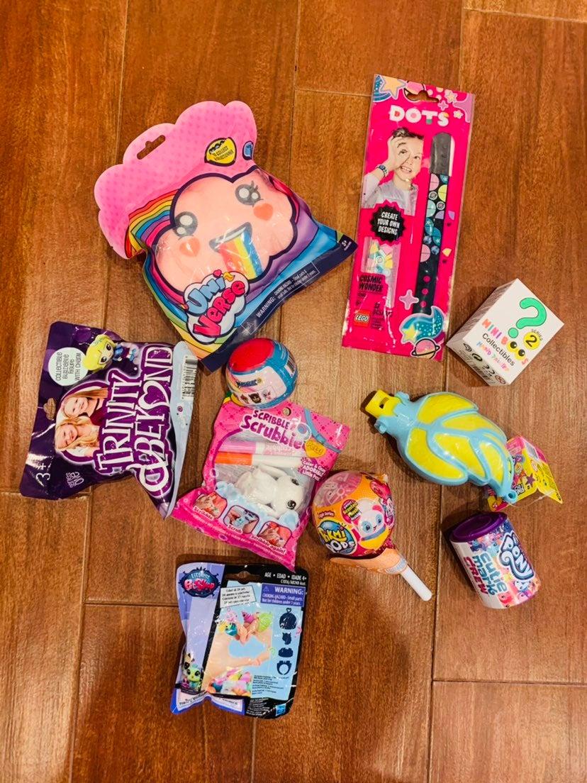 Girls blind bag bundle - lot of 10