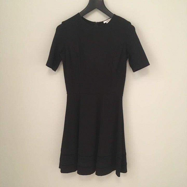 Bar III Black Fit & Flare Dress