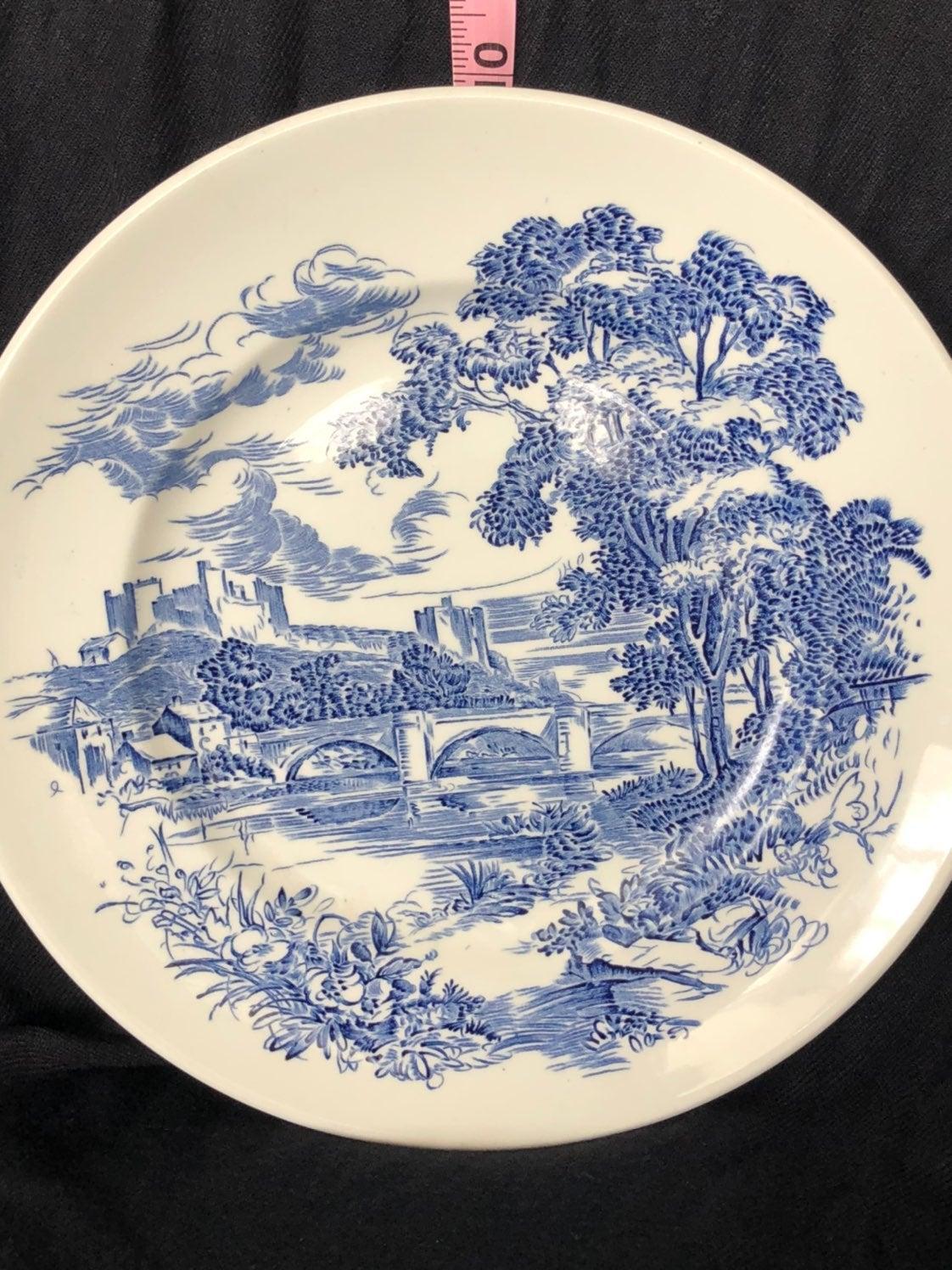 "10"" Wedgewood plate ""Countryside"""