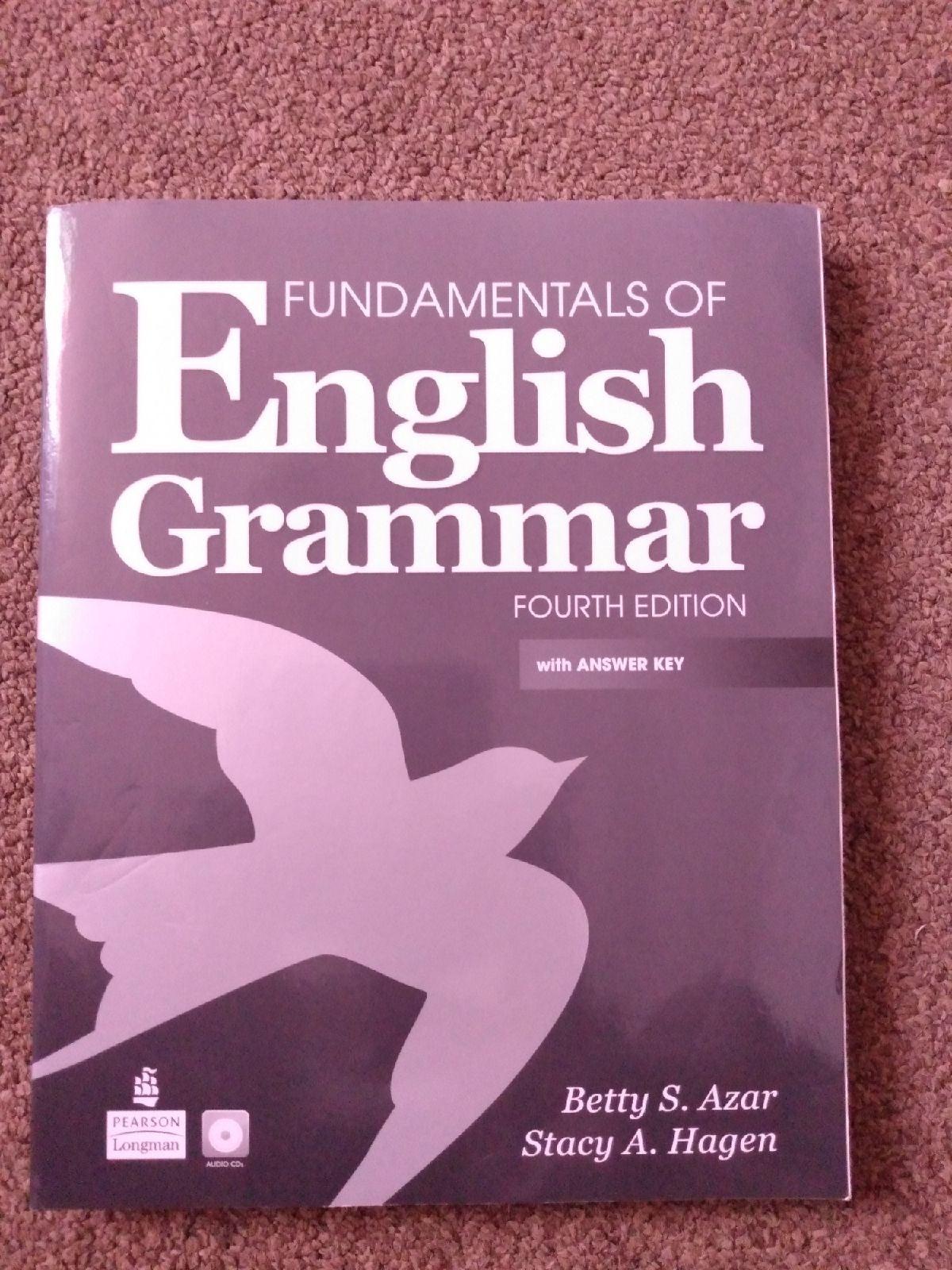 Fundamentals of english grammar fourth e