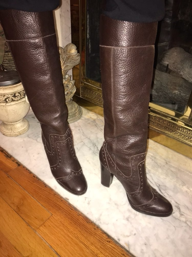 Like New Michael Kors Leather Boots