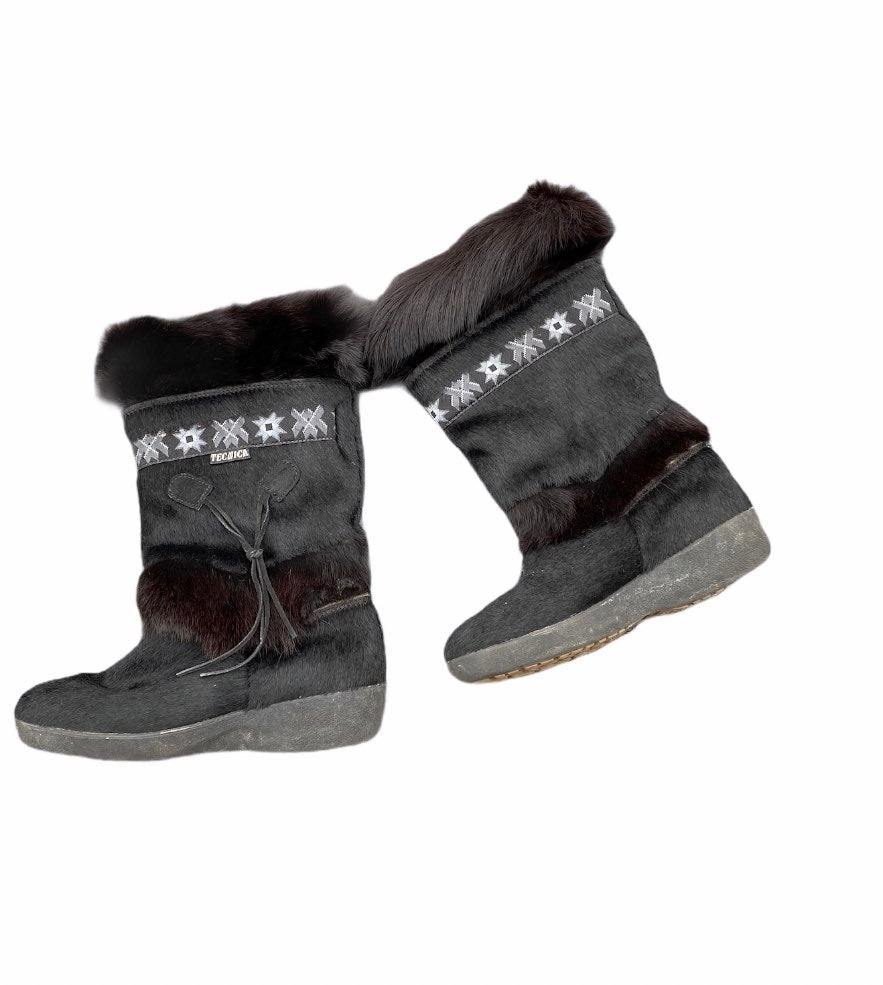 Tecnica insulated fur boots